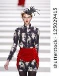 paris  france   march 08  a... | Shutterstock . vector #125029415