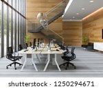 interior modern open space... | Shutterstock . vector #1250294671