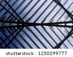 lath structure of suspended... | Shutterstock . vector #1250299777