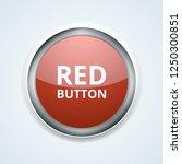 red button label illustration | Shutterstock .eps vector #1250300851