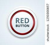 red button label illustration | Shutterstock .eps vector #1250300857