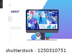 business series  color 2  about ... | Shutterstock .eps vector #1250310751