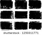 grunge post stamps collection ... | Shutterstock .eps vector #1250311771