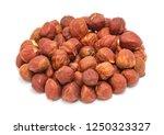 handful of peeled ripe... | Shutterstock . vector #1250323327