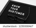 know your customer   business... | Shutterstock . vector #1250330467