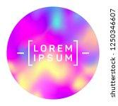 vibrant circle frame of...