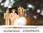 back to school concept  people... | Shutterstock . vector #1250396191