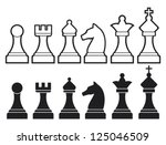 Chess Pieces Including King ...