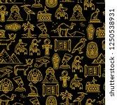 Egypt Culture Seamless Pattern...