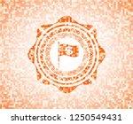 flag with money symbol inside...   Shutterstock .eps vector #1250549431