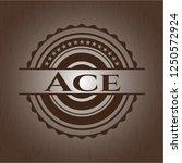 ace wooden signboards | Shutterstock .eps vector #1250572924