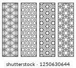 decorative geometric line... | Shutterstock .eps vector #1250630644