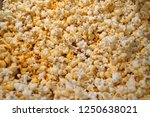 cheese flavour popcorn | Shutterstock . vector #1250638021