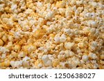cheese flavour popcorn | Shutterstock . vector #1250638027