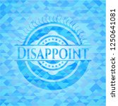 disappoint realistic light blue ... | Shutterstock .eps vector #1250641081