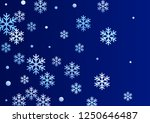 crystal snowflake and circle... | Shutterstock .eps vector #1250646487