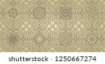 seamless victorian pattern....   Shutterstock .eps vector #1250667274