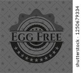 egg free black emblem | Shutterstock .eps vector #1250679334