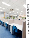 office work place | Shutterstock . vector #125068079