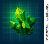 magic green emerland crystal...