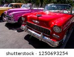 fancy old cars   editorial... | Shutterstock . vector #1250693254