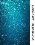 Defocused Abstract Blue Lights...