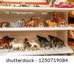 animal plastic models for sale... | Shutterstock . vector #1250719084