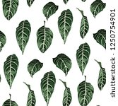 tropical seamless pattern with... | Shutterstock .eps vector #1250754901