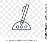 electronic signature icon.... | Shutterstock .eps vector #1250768071