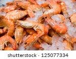 Shrimp In Ice
