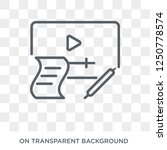 computer based training icon.... | Shutterstock .eps vector #1250778574