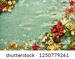 christmas background. christmas ... | Shutterstock . vector #1250779261