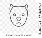 west highland white terrier dog ... | Shutterstock .eps vector #1250780974