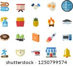 color flat icon set sink flat... | Shutterstock .eps vector #1250799574