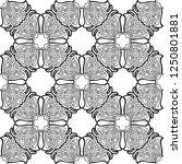 seamless geometric ornamental... | Shutterstock .eps vector #1250801881