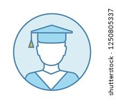 education color icon....   Shutterstock .eps vector #1250805337