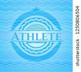 athlete water representation... | Shutterstock .eps vector #1250806504