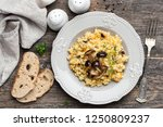 pearl barley risotto with... | Shutterstock . vector #1250809237