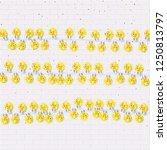 garlands. decorations lights... | Shutterstock .eps vector #1250813797