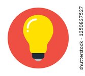 light bulb flat icon. you can...
