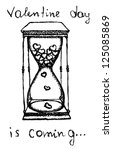 Sand Clock With Hearts Inside...