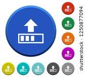 upload in progress round color... | Shutterstock .eps vector #1250877094