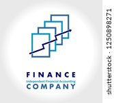 finance company logo   Shutterstock .eps vector #1250898271