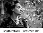 youth  beauty. eco  nature ... | Shutterstock . vector #1250904184