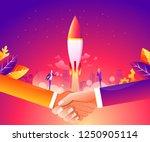 business start up concept for... | Shutterstock .eps vector #1250905114
