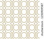 geometric ornamental vector... | Shutterstock .eps vector #1250909587