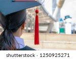 asian women turn back to camera ... | Shutterstock . vector #1250925271