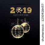 congratulations on the 2019... | Shutterstock . vector #1250928457