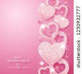 valentines day vertical... | Shutterstock .eps vector #1250932777