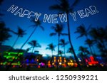sparkling happy new year... | Shutterstock . vector #1250939221
